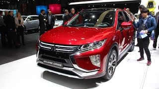 2018 Mitsubishi Eclipse Cross First Look - 2017 Geneva Motor Show
