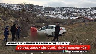 Konya'da hırsızlık şüphelilerine ateş açıldı: 1 ölü, 2 yaralı