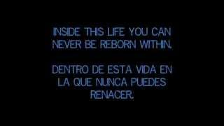 Evans Blue - Erase my scars. (Sub. Español)