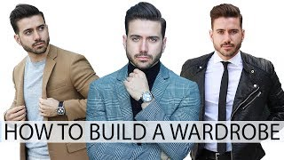 HOW TO BUILD A WARDROBE WITH BASICS | Affordable Men's Clothes | Men's Fashion