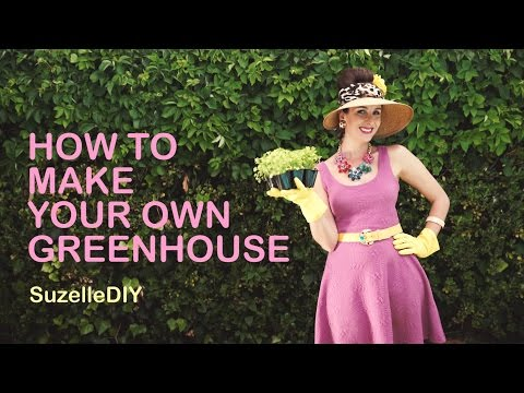 Build A Greenhouse Or Garden Shade Box With Hula Hoops