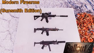 Fallout 4 Mods No 12 Modern Firearms Gunsmith Edition