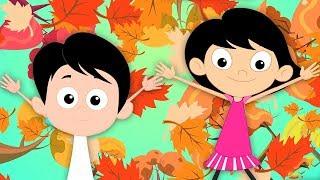 Canção De Outono | Canções Para Crianças | Rimas Em Portugues | Autumn Song | Kids Tv Portuguese