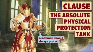 King's Raid - Clause The Absolute Physical Protection Tank Review
