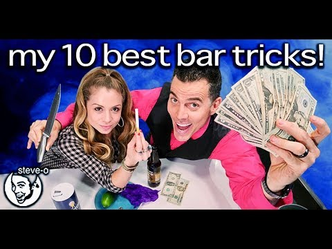 Steve-O's Ten Best Bar Tricks