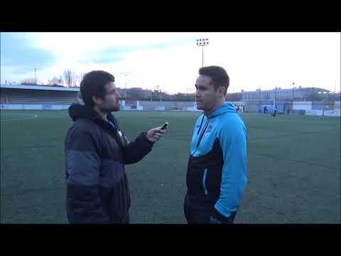 Declaraciones de Rubén Zapater, Entrenador del Utebo, tras el Utebo 4-0 Brea