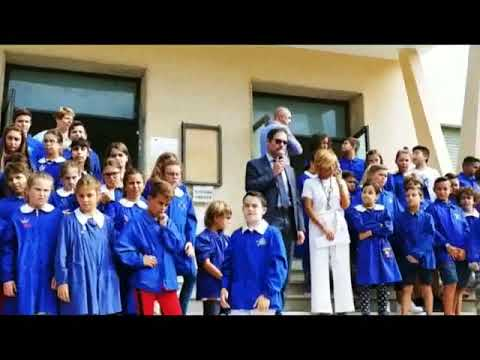 IL PRIMO GIORNO DI SCUOLA ALLE PRIMARIE DE AMICIS DI BORDIGHERA
