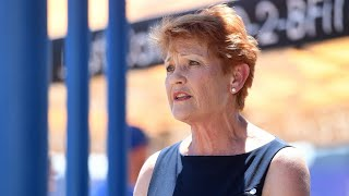 Pauline Hanson 'devastated' by One Nation's collapse in support