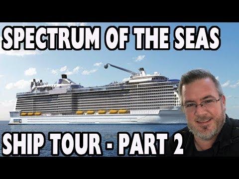 Asia's Largest Cruise Ship - Spectrum of the Seas Ship Tour - Part 2