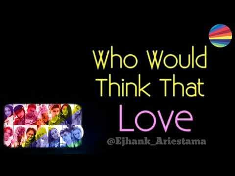Now United - Who Would Think That Love?   KARAOKE + LYRICS