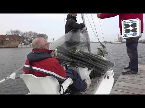 Nieuwe boot type SV 14 in Grou