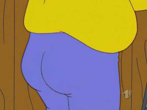 Simpson - Homer Pantaloni blu