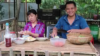 Lai Rai Với 2 Bác Xong Làm Lại Vườn Rau | 7 Thuận #96