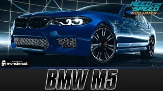 Need For Speed No Limits: BMW M5 (MAXXED OUT + Tuning [All Black Edition Parts])