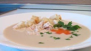 Суп-пюре из курицы видео рецепт. Книга о вкусной и здоровой пище