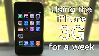 Using the iPhone 3G for a Week   Not a Horrible Experience