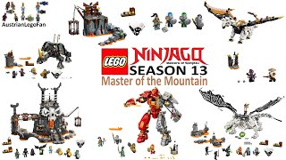 LEGO Ninjago Season 13 Master Of The Mountain Compilation Of All Sets - Lego Speed Build Review