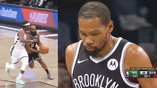 James Harden INJURY Then Kevin Durant & Kyrie Irving Take Over! Nets vs Bucks Game 1