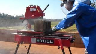 Corta Tijolo DPS-65 - Vídeo de exemplo da Corta Tijolo DPS-65