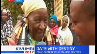 Elderly woman delighted after casting her vote in Gatundu