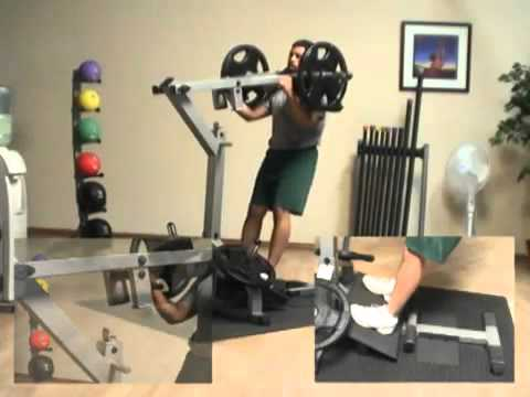 Body-Solid GSCL360 Leverage Squat Machine & Calf Raise