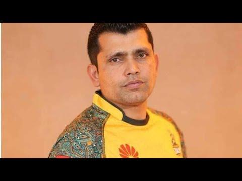 Kamran Akmal Bating Practice In Abbottabad Cricket Stadium
