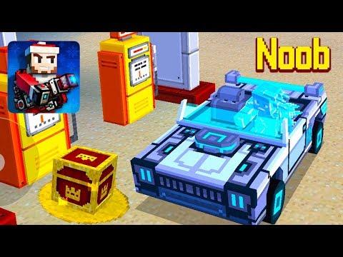 Pixel Gun 3D Full Noob Funny Video