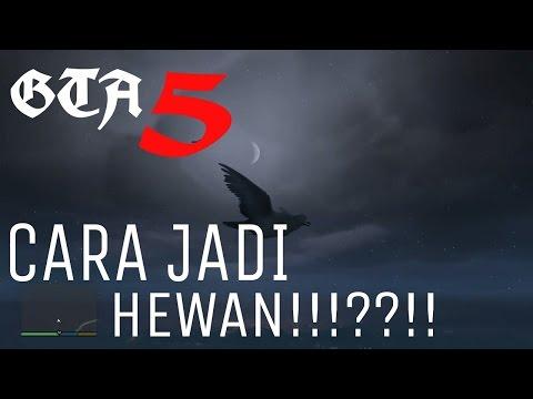 Video Main GTA 5 !!! cara jadi hewan dan cara menuruni gunung secara GREGET!!!