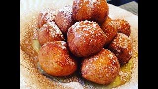 Loukoumades - Greek Honey Donuts   Christine Cushing