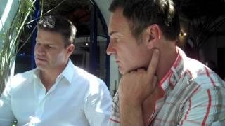 [FULL CIRCLE] David Boreanaz & Julian McMahon talk about Full Circle