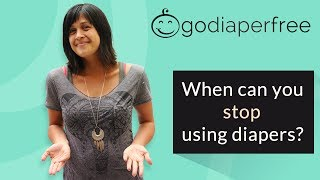 Elimination Communication: When can you stop using diapers with your baby?