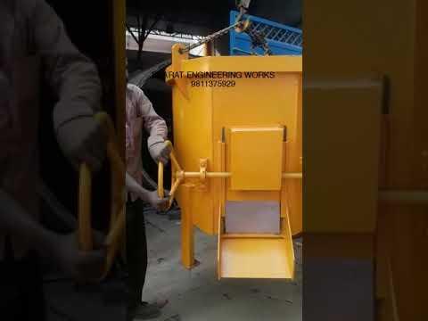 Side Discharge Concrete Bucket
