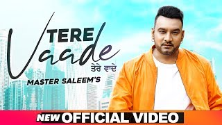 Tere Vaade (Official Video) | Master Saleem | Latest Punjabi Songs 2020 | Speed Records
