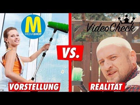 🔴 MediaShop Wirklichkeit vs Realität  Aqua Clean im Test