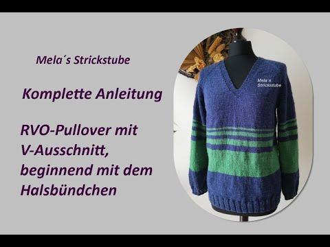 Ragmela 35 - RVO Pullover mit V-Ausschnitt