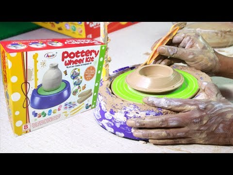 Pottery Wheel kit for Boys and Girls | Unboxing Pottery Toys for Kids