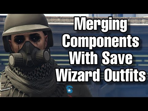 Components & Save Wizard Merging Outfits (Paramedic, Gun Belt, Race Gloves Included)