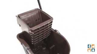 e4373e84947 Rubbermaid 758088 WaveBrake Bucket Side Press Wringer RCP758088BN