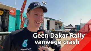 Erwin van de Bosch mist Dakar Rally bij Team de Rooy door eerdere crash.