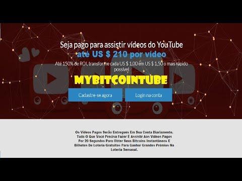 #MyBitcoinTube Ganhe até $210 Assistindo Vídeos de 20 Segundos, Centavos de Dólares Grátis por vídeo