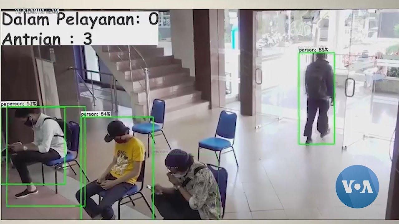 Iνδονησία:Λογισμικό βοηθά τους ανθρώπους  σε ουρές να κρατούν κοινωνικές απόστασεις λόγω κορονοϊού