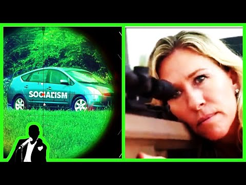 Marjorie Taylor Greene Blows Up 'Socialism' Car In Dumb Political Ad