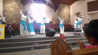 Rain On Us - Anointed Movement - Dance Ministry at St. John Baptist Church