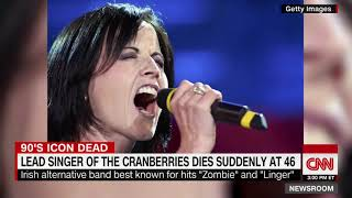 Dolores O'Riordan: Cranberries singer dies at age 46