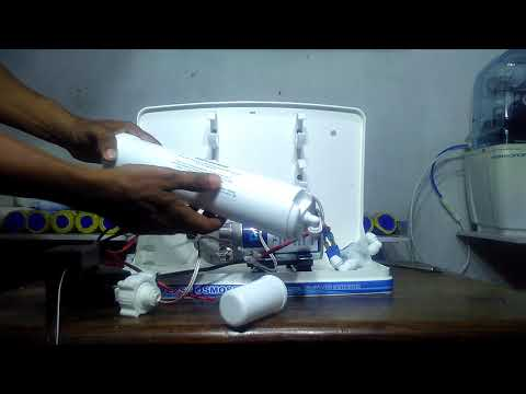 How to assemble a reverse osmosis water purifier for better tasty mineral water ? RO Water Support .