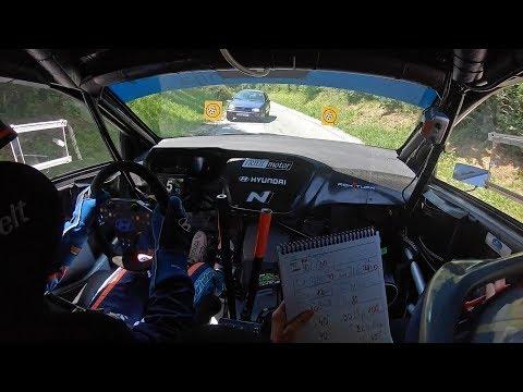 45. INA Delta rally 2019 | Shakedown | Rok Turk - Blanka Kacin (Hyundai i20 R5)