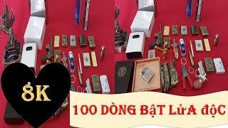 BẬT LỬA HỘP QUẸT ĐỘC | TOP 100 DÒNG BẬT LỬA HOT NHẤT