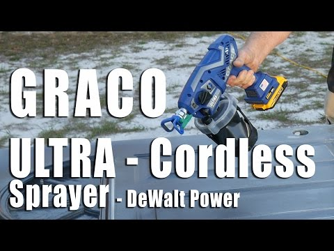 Graco Ultra Cordless Handheld Sprayer Review – DeWalt Power