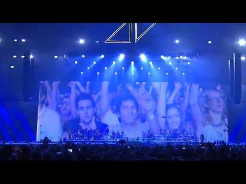 Avicii Tribute Concert | Levels + Ending | EPIC Performance | [HD] Friends Arena Stockholm Sweden