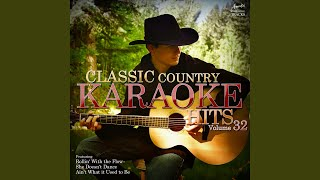 Rollin' With the Flow (In the Style of Mark Chesnutt) (Karaoke Version)